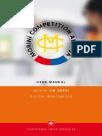 Manual CM 200 EI