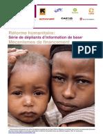 Basic Information Leaflet Series - Financing Mechanisms (FR)
