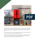 ELEGOO Mars UV Photocuring LCD 3D Printer with 3 (1)