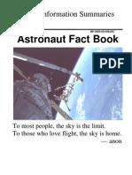 Astronaut Fact Book Sept 2000
