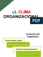 CLIMA ORGANZIACIONAL nov 2011