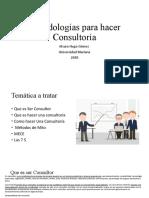 Metodologías para hacer Consultoría