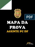 MAPA DA PROVA - AGENTE PC DF