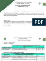 INFORME DE GESTION ACADEMICA DOCENTE AREA DE INGLES
