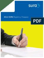 Folleto RegistroyTraspaso SURA_AF006