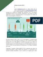 MUNDO. Balance de Emisiones de Metano (2017)
