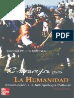 Espejo para la humanidad introducción a la antropología cultural