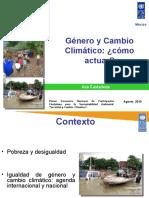 Genero y cambio climatico, 2010.ppt