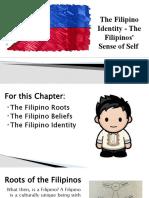 The Filipino Identity - The Filipinos' Sense of Self