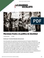 Marxismo frente a la política de identidad.pdf