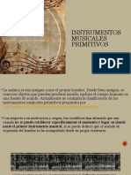 instrumentos primitivos