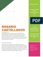 Rosario Castellanos recopilada