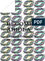 Becoming Abiola (On the intimacy of objects)