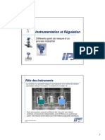 1- Instrumentation et Régulation Introduction