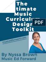 The Ultimate Music Curriclum Design Toolkit