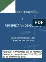 DERECHOS HUMANOS Y PERSPECTIVA DE GENERO