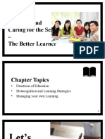 Learning and Caring for the Self - The Better Learner