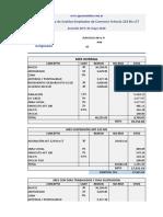 Ejemplos Art 223 bis Empleados de Comercio con y sin grossing up.xlsx