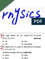 physics math 1 test