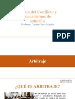 CLASE TEORÍA DEL CONFLICTO - ARBITRAJE (2)