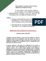 DERECHO ADUANERO COMO NORMA JURIDICA