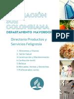 DIRECTORIO PRODUCTOS Y SERVICIOS ASURCOL 2020