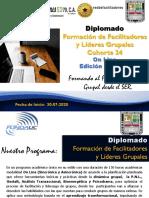 Brochoure Diplomado Formación de Facilitadores y Lideres Grupales  On Line - Cohore 24