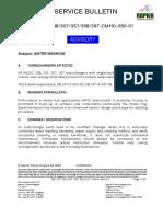 Napier TC Water Cleaning Procedure SB_297_298_307_357_358_397_CMHO_050_01