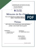 Etude d'un hangar industriel avec pont roulant..pdf