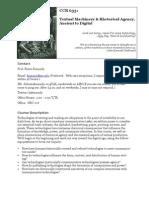 Textual Machinery and Rhetorical Agency