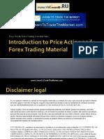 Ação de preço Forex Trading com Nial Fuller