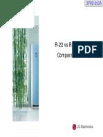 [2PRD-003A]Refrigerant Comparison