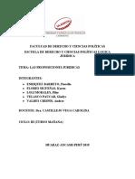 FACULTAD DE DERECHO Y CIENCIAS POLÍTICAS