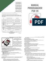 MANUAL viejo PROGRAMADOR PSR20