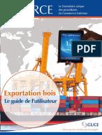 Le guide de l'utilisateur e-FORCE export Bois