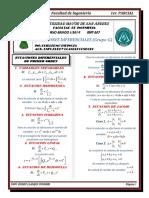 FORMULARIO PRIMER PARCIAL (MAT-207)