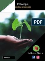 Catálogo Semillas - La Huerta Diversa 2020