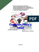 Condición Física y salud Análisis