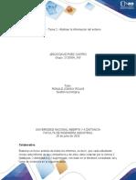 Unidad 1 - Tarea 2 - Abstraer la información del entorno