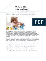 teoria de modelado en taller para padres