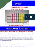 Tema 5 Titulacion Acido-base