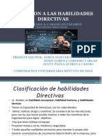 PRESENTACION DE HABILIDADES GERENCIALES ACTIVIDAD  1.