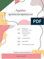 webinario de agentes quimioterapéuticos..pptx