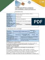 Guía de actividades y rúbrica de evaluación - Tarea 2 - Arte y tradición