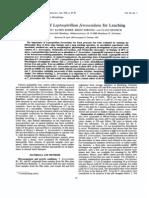 Evaluation of Leptospirillum ferrooxidans