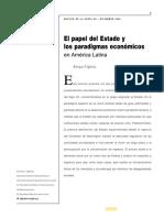 Lectura no. 2 Iglesias paradigmas económicos en américa latina cepal