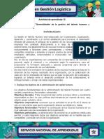 Evidencia 1 Taller Generalidades de la Gestion del talento humano y subprocesos.pdf