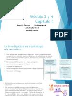 Módulo 3 y 4 psicologia general