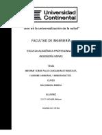 INFORME SOBRE PALAS CARGADORAS FRONTALES,CAMIONES MINEROS, Y MINERODUCTOS.