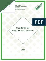 StandardsforProgramAccreditation